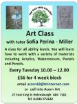 Acrylic & Watercolour Painting with Sofia Perina-Miller